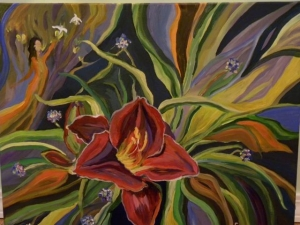 Day Lily by Sylvia Sands $250