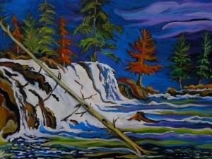 Vetter Falls by Sylvia Sands $400