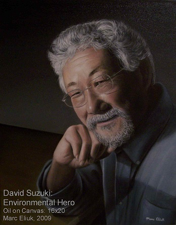 David Suzuki by Marc Eliuk 2009sm