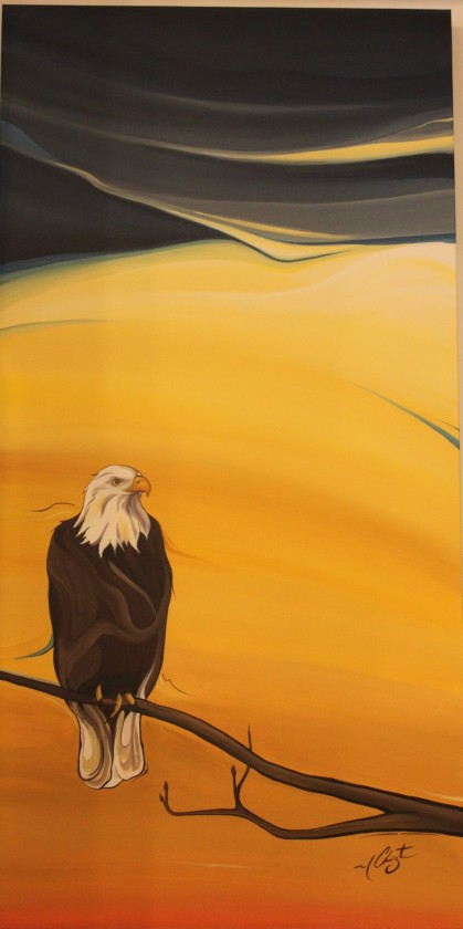 Eagle by Marie Christine Claveau