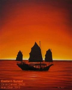 Eastern Sunset by Marc Eliuk