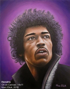 Hendrix by Marc Eliuk