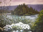 Highway 16 near Prince Rupert by Gail Turner Sears, SOLD