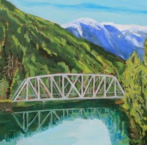 Kasiks Bridge by Cynthia Powell