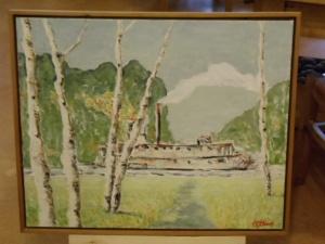 The Riverboat by Marek Waskiewicsz