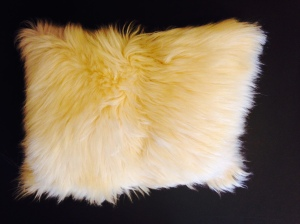 Mountain Goat Cushion by Karin Groth (19 x 12) $235