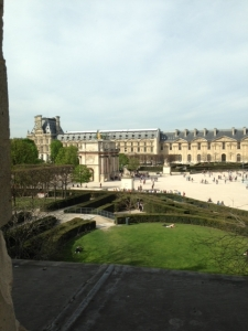 Edward Epp travels to THE LOUVRE April 2013