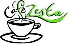 CAFE ZESTA green and black only