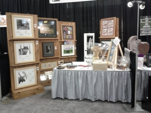 Mountainside Gallery & Framing Booth # 12 Business Expo April 2013