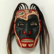 Dying Warrior Mask by Shawn Aster
