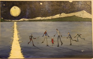 On Frozen Lake by Tim Block