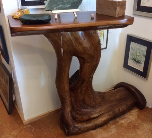 Tall Driftwood Table by Jamie Daye
