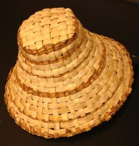 Yellow Cedar Woven Hat by Daniel Wilson $450