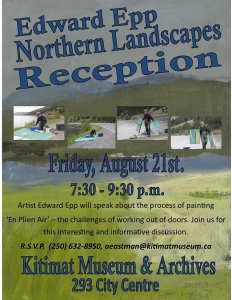 E Epp  Northern Landscape Poster