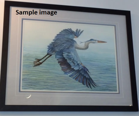Blue Heron by Dan Fallwell
