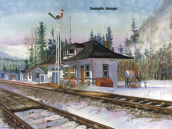 Kwinitsa Station by Dan Fallwellsm