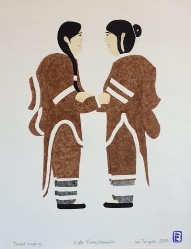 Throat Singing - Clyde River, Nunavut by Levi Panipak 2010