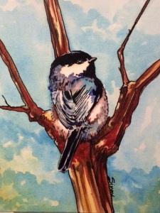 Une Chickadee by Simone Klein