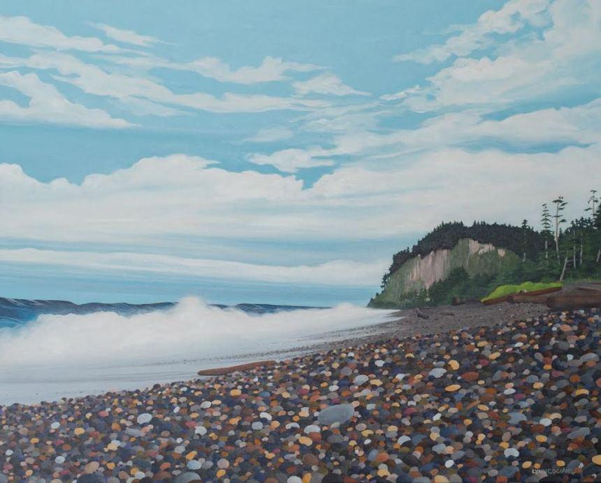 Agate Beach by Lynn Cociani (giclee print) $97
