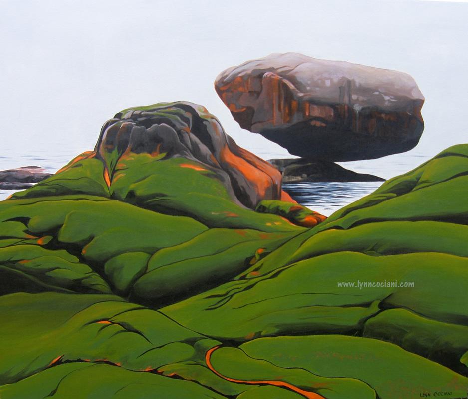 Balance Rock by Lynn Cociani