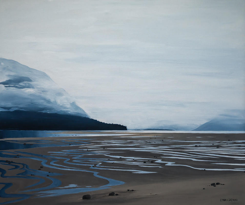 Skeena Tidal Flats by Lynn Cociani