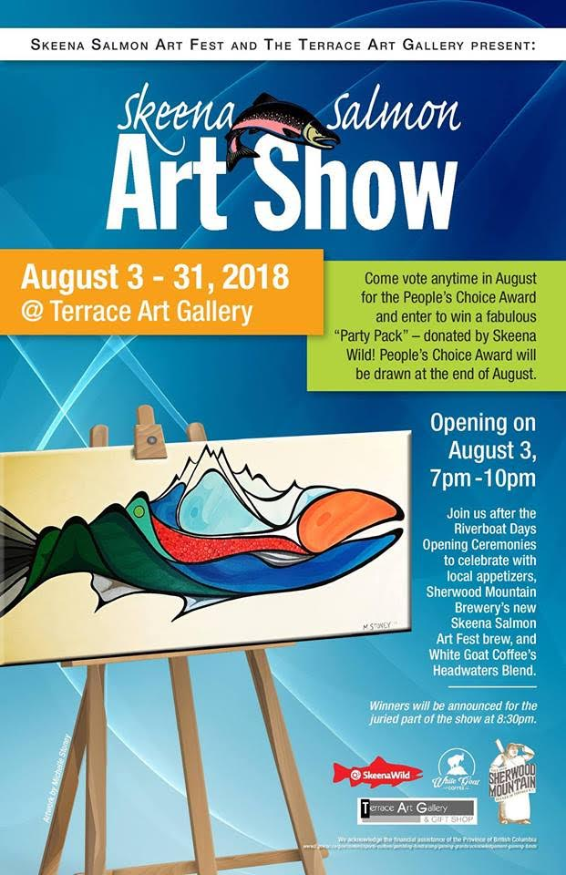 Skeena Salmon Art Show