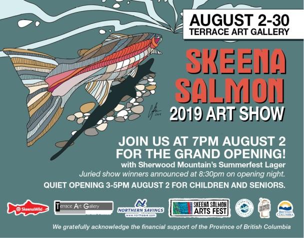 Skeena Salmon Art Show 2019
