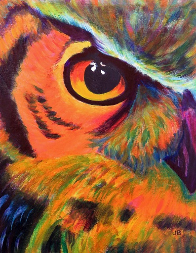 Owl by Joan Billey