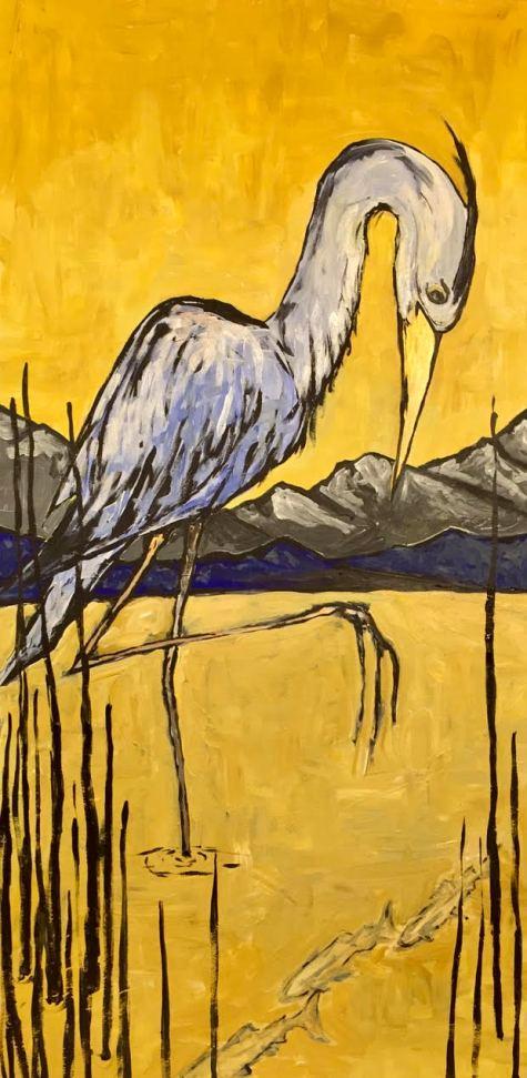 Heron by Tim Block